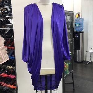 Purple Vintage Cape